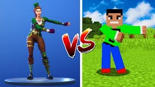 Minecraft NOOB vs. PRO: Fortnite Dances in Minecraft!