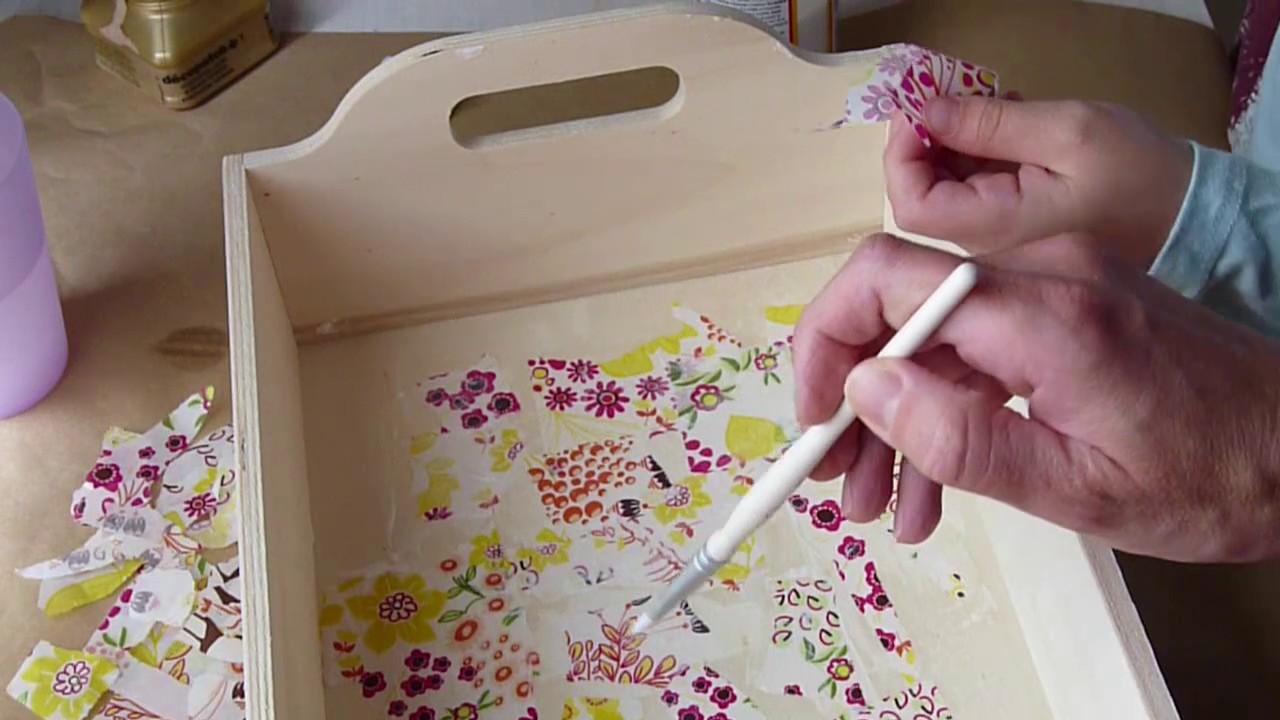 Manualidades con ni os decoraci n de caja de madera con - Cajas decoradas para bebes ...