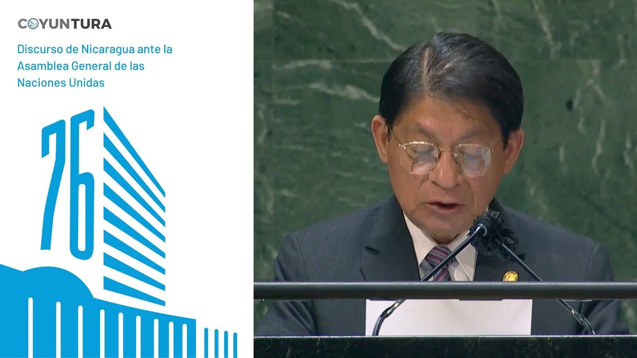 Discurso de Nicaragua ante la Asamblea General de las Naciones Unidas