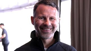 Ryan Giggs On His Start As Wales Manager