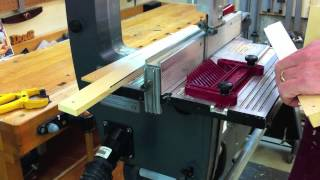 Shopsmith Bandsaw. How To Resaw, Rip By Doug Reid