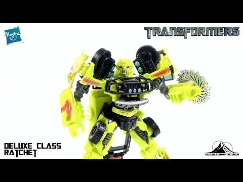 Optibotimus Reviews: Transformers Studio Series Deluxe Class RATCHET