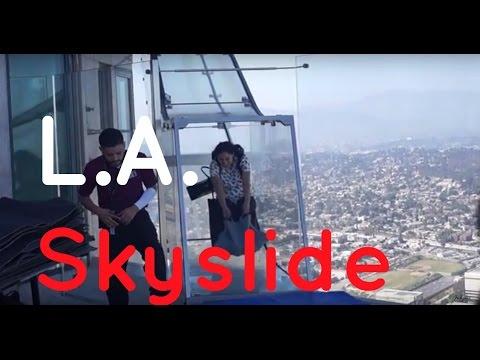 Weekend Getaway | Part 2! L.A. Skyslide