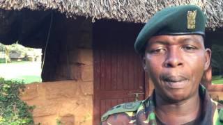 Head of security at Lewa Wildlife Conservancy speaks to the Guardian – video