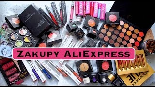 4 cz. z cyklu Zakupy z AliExpress Haul kosmetyki z Chin Urban Decay  Morphe Brushes Kat Von D