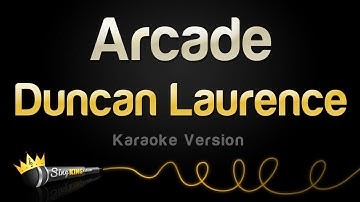 Duncan Laurence - Arcade (Karaoke Version)