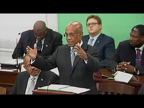 2017-2018 Budget for The Bahamas Debate Day 5 (Morning Session)