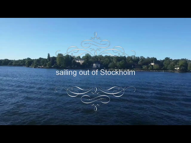 Sailing out of Stockholm