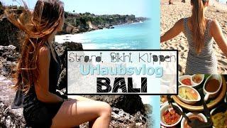 Bali Vlog 1 - Kuta - Ausraster im Fahrstuhl - Klippenspringen - Indonesisches Essen
