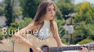 Budapest by George Ezra acoustic cover by Jada Facer