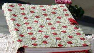 Porta caderno em tecido (cartonagem) – Passo a passo