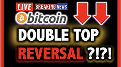 BITCOIN DOUBLE TOP REVERSAL AT $10K?!! 🔥 LIVE Crypto Analysis TA & BTC Cryptocurrency Price News Now