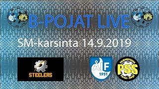 Steelers - ÅIF/PSS B-pojat (SM-Karsintapeli 14.9.2019)
