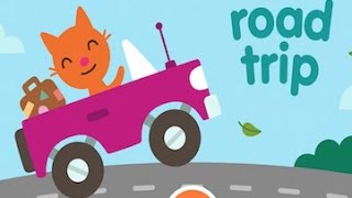 Sago Mini Road Trip Part 1 - Best iPad app demo for kids - Ellie