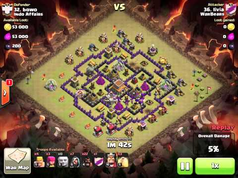 th 8 - 2 different hog attacks - vs Indo Affairs (Livia)
