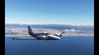 Microsoft Flight Simulator 2020 OOSA Салала -OYGD Эль -Гайда  FR полет