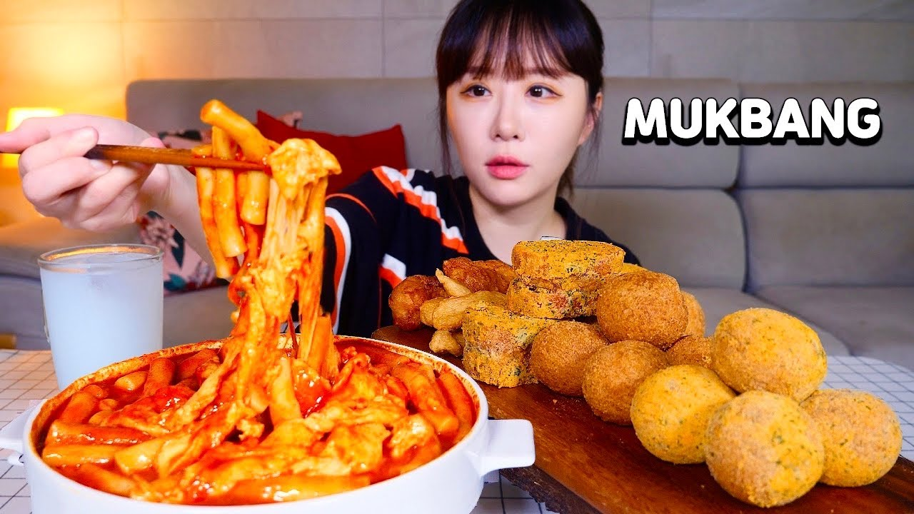 🇰🇷❤️🔥주기적으로 먹어줘야 하는 신전떡볶이 매운맛! 뿌링 치즈볼, 뿌링멘보샤와 함께 먹방 Spicy Tteokbokki, Cheese balls MUKBANGㅣASMR