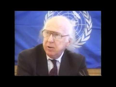 Um-weltrecht Pressekonferenz München m. Garry Davis & S. Mögle-Stadel