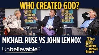 Who created God? Prof John Lennox vs atheist Prof Michael Ruse