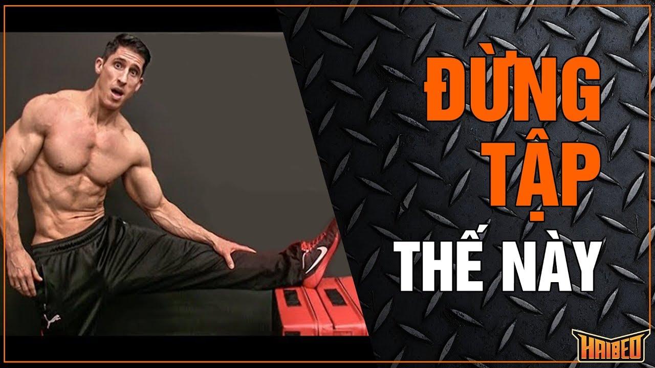 Giãn cơ trước tập có thể làm hạn chế sự phát triển cơ bắp – AthleanX Vietsub