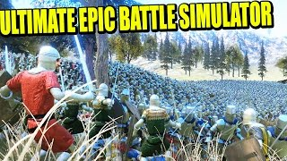 ESPARTANOS, ZOMBIES, ORKOS, CABALLEROS, PINGÜINOS... ULTIMATE EPIC BATTLE SIMULATOR (UEBS)