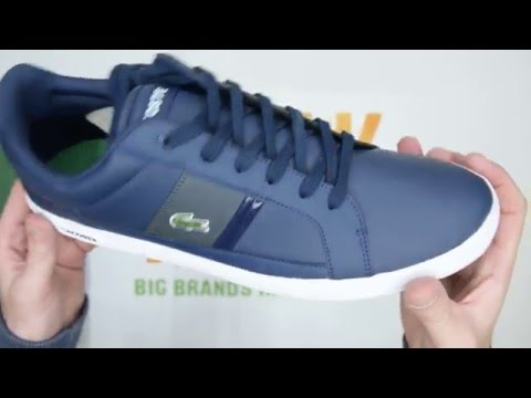 Lacoste Europa LCR - Navy / Grey - Walktall | Unboxing | Hands on