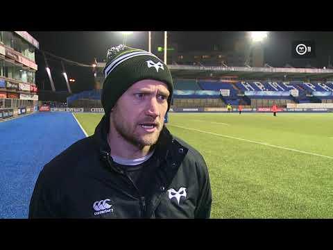 Ospreys TV: Richard Fussell Post Match Cardiff Blues