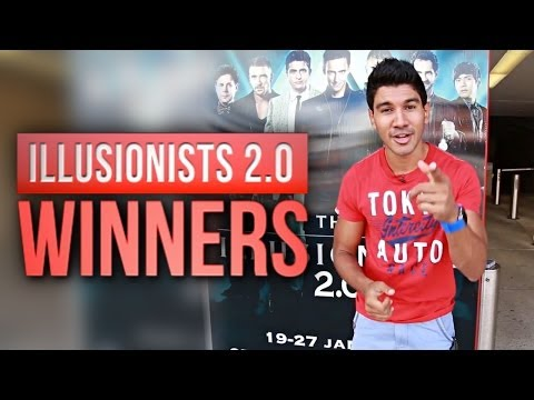 Winners Revealed | The Illusionists 2.0!