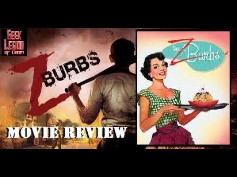 ZBURBS ( 2017 Marieh Delfino ) Zombie Horror Comedy Movie Review