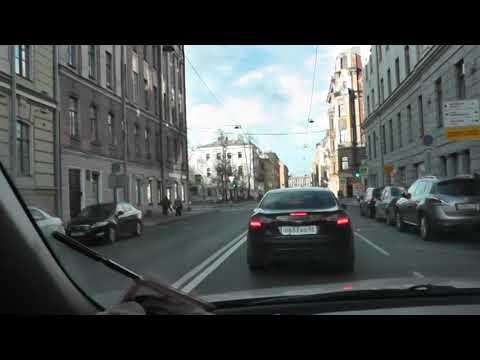Системный проезд перекрестков в центре нашего города.