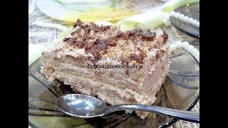 Торт без выпечки из печенья и творога - быстро, просто, вкусно!