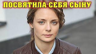 Какой белокурый малыш! А Вы видели сынишку актрисы Карины Разумовской