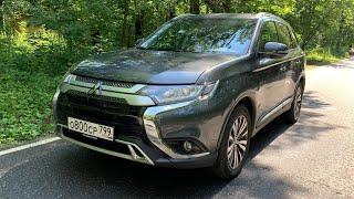 Взял Mitsubishi Outlander - русским лучше чем японцам! Yandex auto 2020