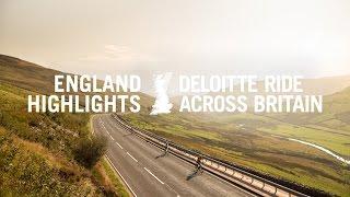 Deloitte Ride Across Britain 2016 - England highlights