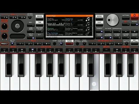 Tera Fitoor (Genius) - Instrumental On ORG 2019 | Arijit Singh | Piano Star