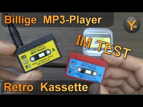 Billig MP3-Player im Test: Retro Kassette / microSD bis 8GB / WMA MP3