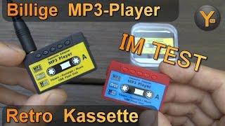 Billig MP3-Player im Test: Retro Kassette / microSD bis 8GB / WMA MP3