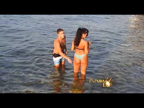 David i Aleksandra Subotic na moru sa Ljubom Pantovic