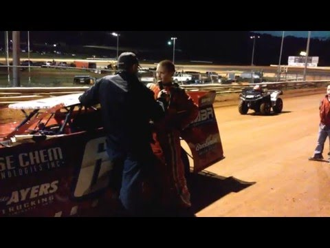 Carder Miller #69 May 14, 2016. Victory Lane interview