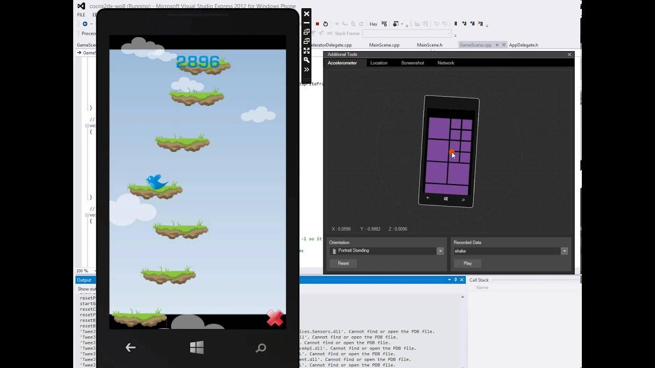 wp8 emulator symbian