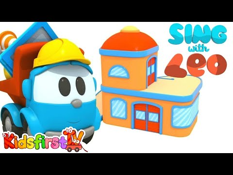 Sing with Leo the Truck. Nursery rhymes & baby songs.