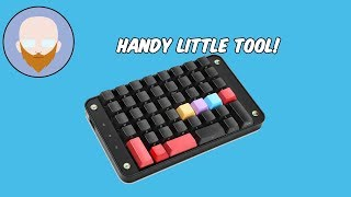 One Of My Favorite Little Tools! | Koolertron Programmable Mechanical Keyboard Review