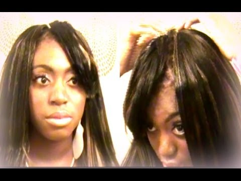 Crochet Straight Hair Youtube : STRAIGHT HAIR CROCHET BRAID X-PRESSION REVIEW - YouTube