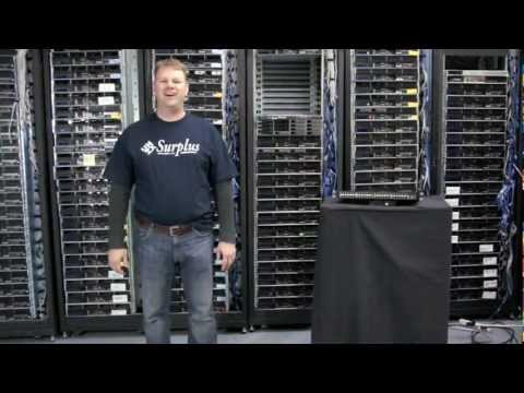 Woven Brocade Open Source 48port Gigabit Switch.mov