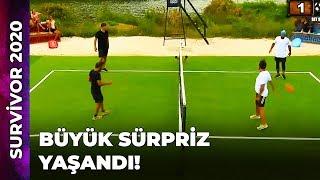 Tenis Oyunu 2. Kısım | Survivor Ünlüler Gönüllüler