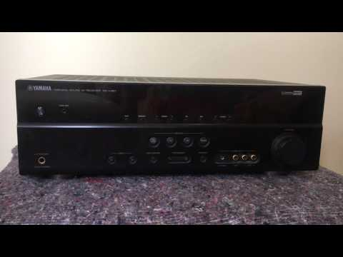 How To Reset The Yamaha Rx V367 Av Receiver Youtube
