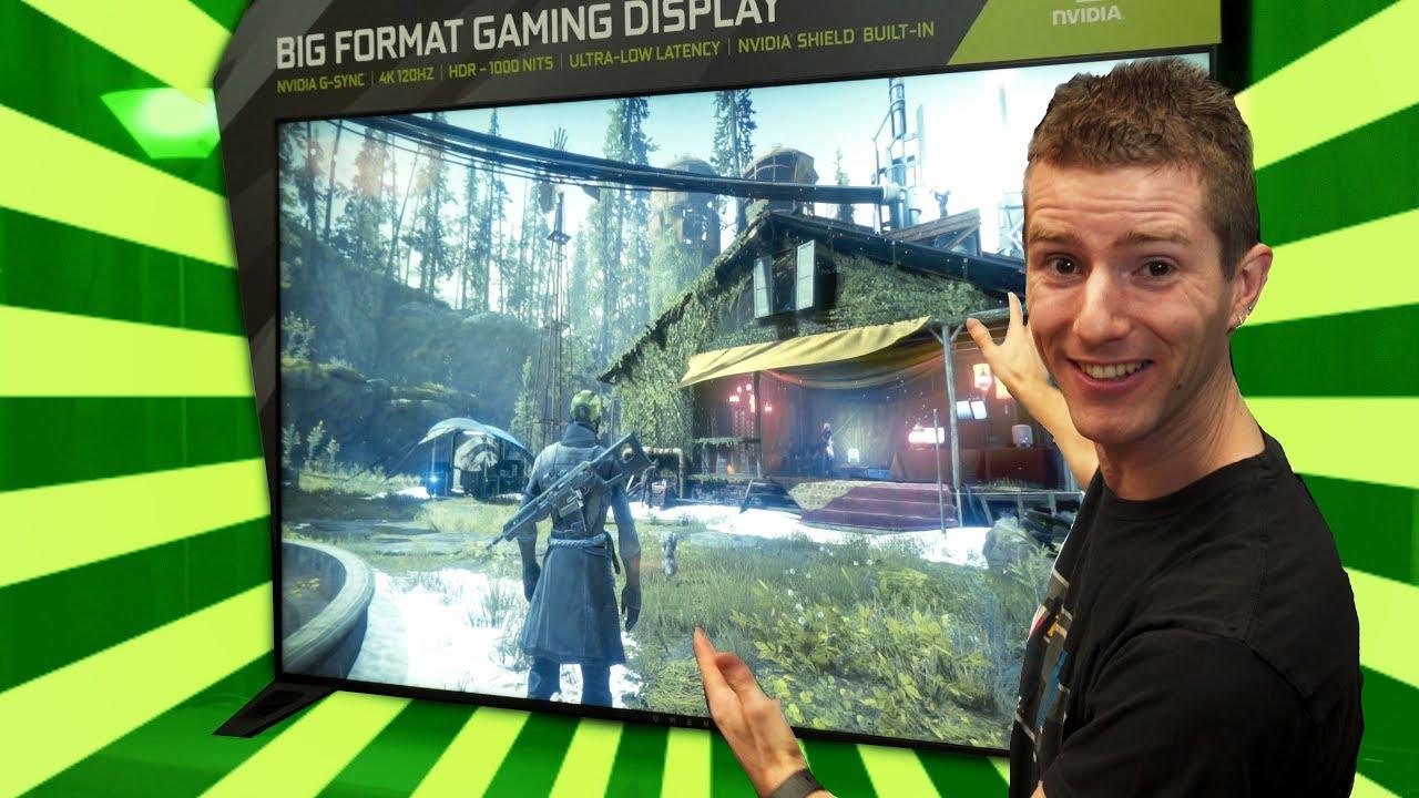 4K 120Hz Gaming TV from NVIDIA!?