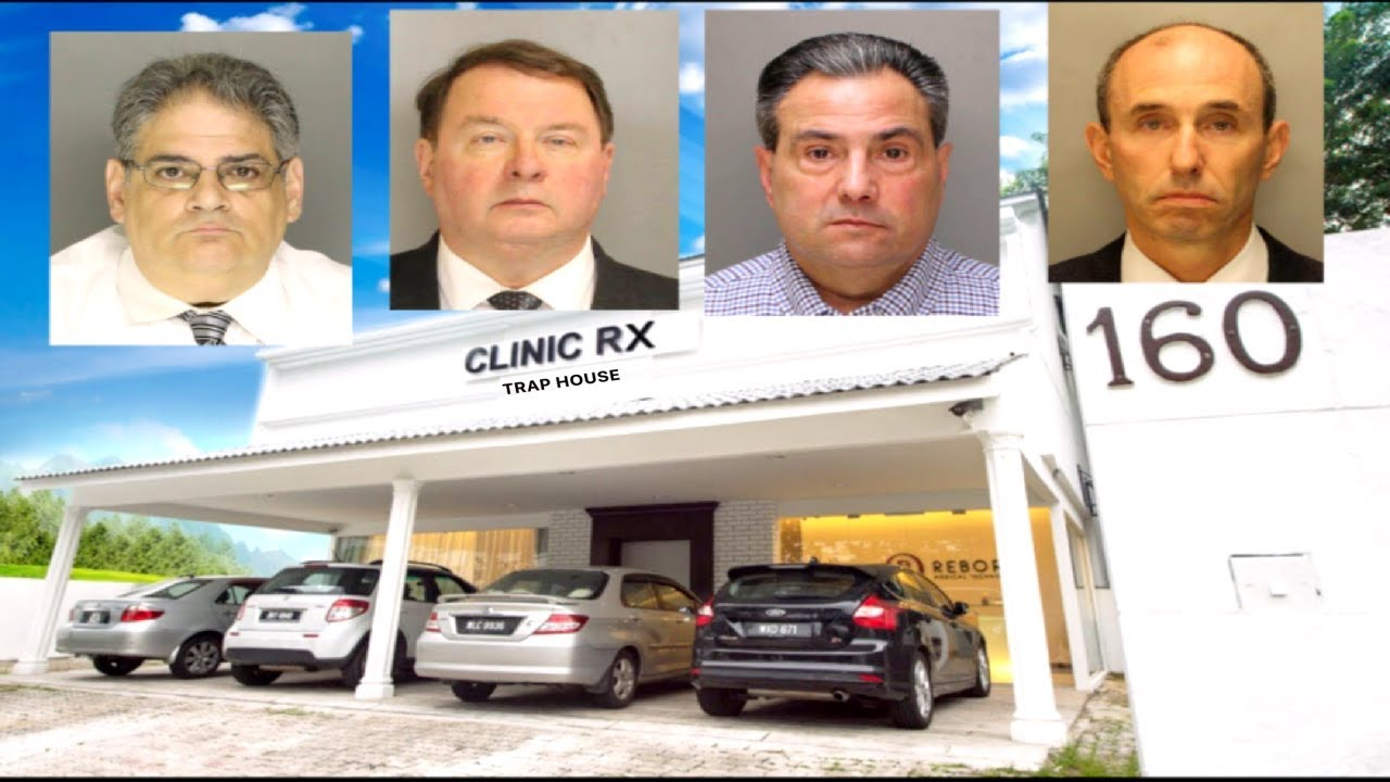 4 Pennsylvania Doctor's Arrested For Running Pill Mills Scam.