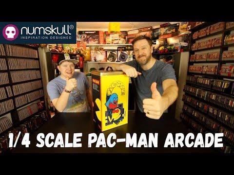 1/4 Pac-Man Arcade Unit by Numskull Designs
