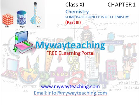 Chemistry class 11 chapter 1 part iiisome basic concepts of chemistry class 11 chapter 1 part iiisome basic concepts of chemistry malvernweather Image collections
